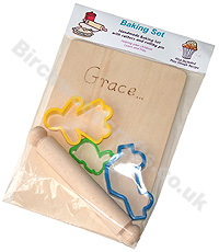 Children's / Kids Personalised Wooden baking set �4.99