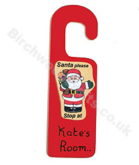 Personalised Christmas Santa Stops £2.50 each