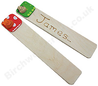 Personlised Personalised Wooden Bookmark £1.99