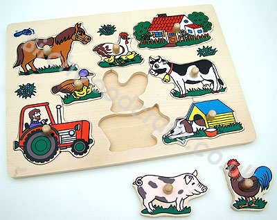 Big Photo of Educational Puzzles - £6.50