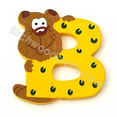 Handmade Educational Wooden Letters - £1.40