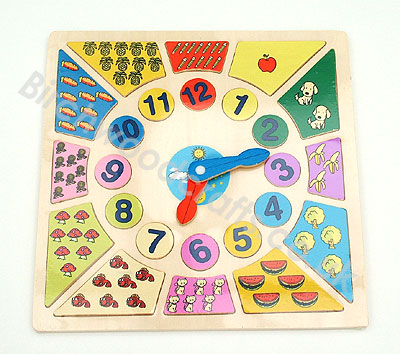 Big Photo of Educational Learning Clock - £8.99